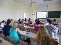 Estudiantes de la UNED en Dénia