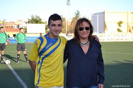 Gema Estrela with Álex Sirerol