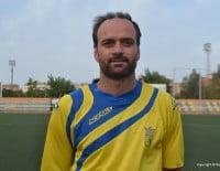Gervasio Carril, capitán del CD. Dénia