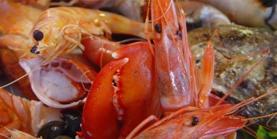 Mes del marisco en Voramar