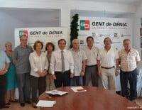 Miguel LLobell con sus compañeros de ejecutiva