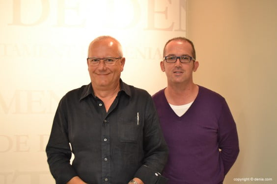 Jordi Serra Vicent Grimalt avec
