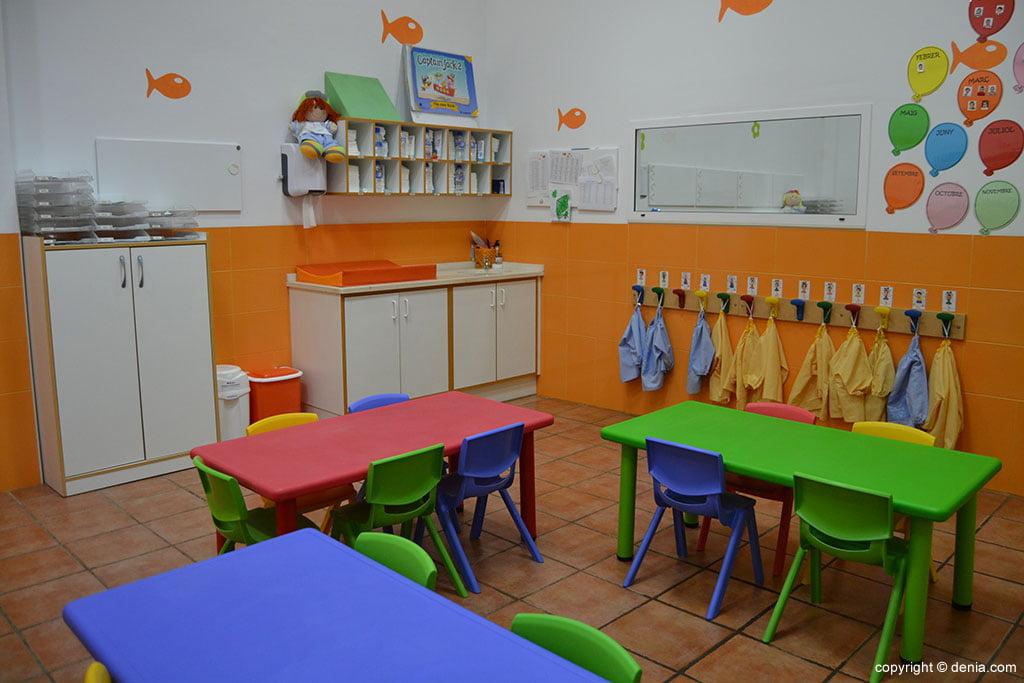 mesas colorets