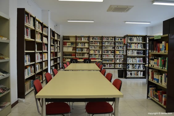 Agencia de Lectura Baix la Mar - sala de estudio