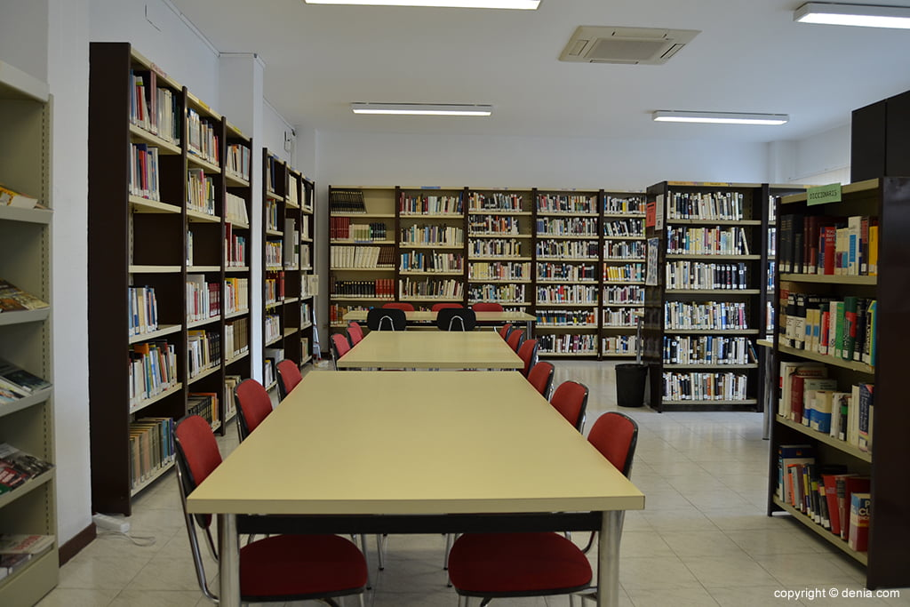 Agence de lecture Baix la Mar - Salle d'étude
