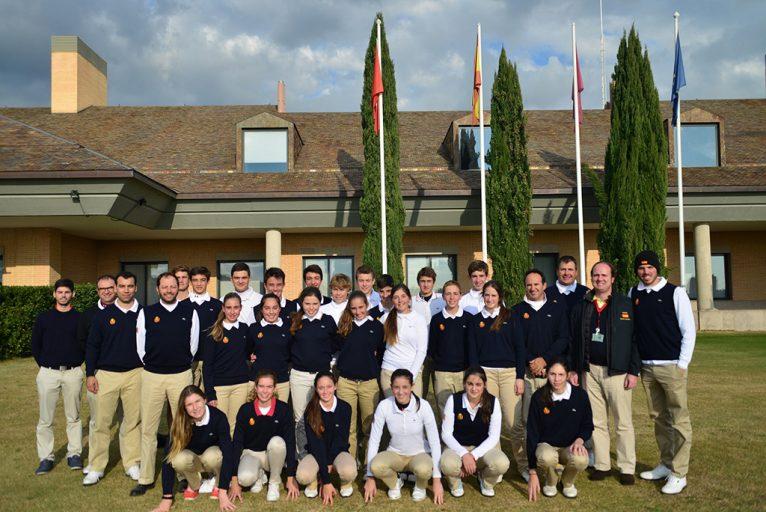 Concentración grupo trabajo equipo nacional