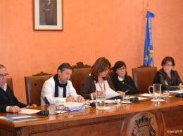 Equipo de gobierno en el pleno