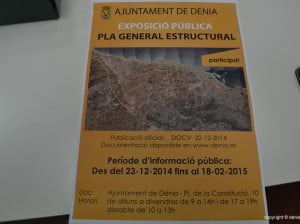 Exposición pública del Plan Estructural