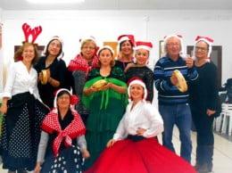 Fiesta navideña de los alumnos de Rebeca Alibrando