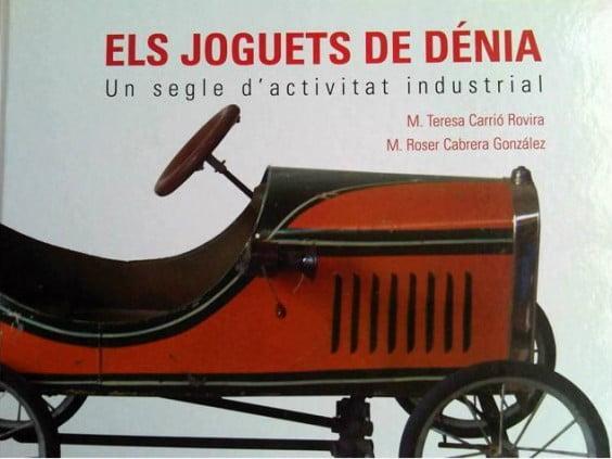 Libro Els Joguets de Dénia