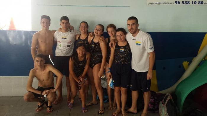 La nadadora Miriam Ochoa del Club Natació Dénia destacó en Petrer - denia.com