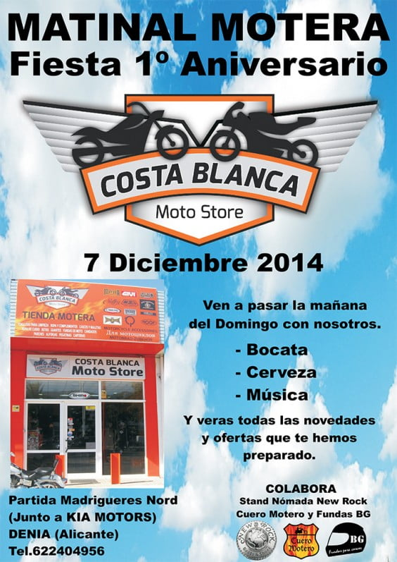 Matinal Motera at Costa Blanca Moto Store