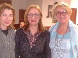 Nuria Sendra, Dolors Alexandre y Consol Castillo