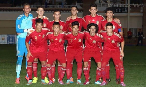Pepelu with the Spanish Selection