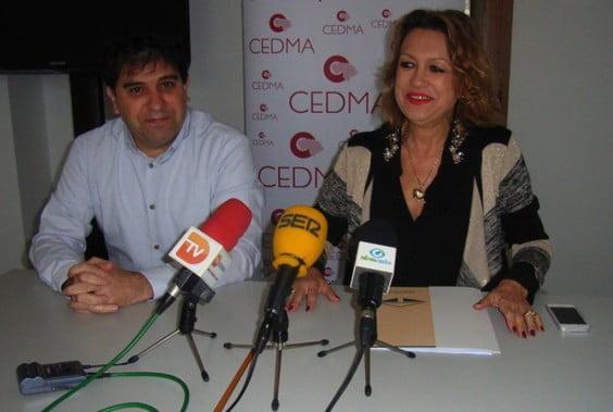 Sonja Dietz junto a Esteban Cobos