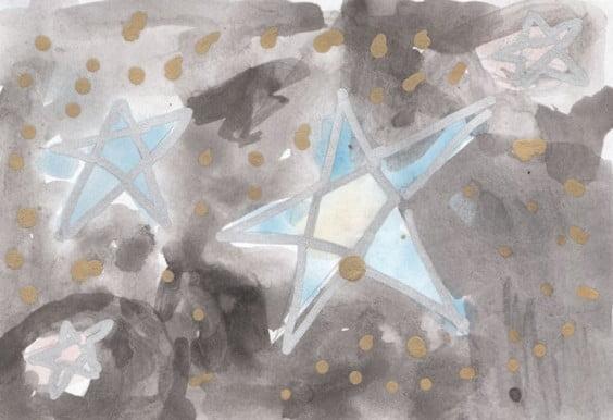 Tarjeta ganadora del concurso de tarjetas de navidad 2013