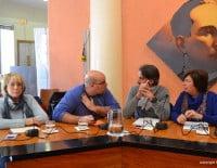 concejales de CU. Compromís y Ciudadanos en el Pleno