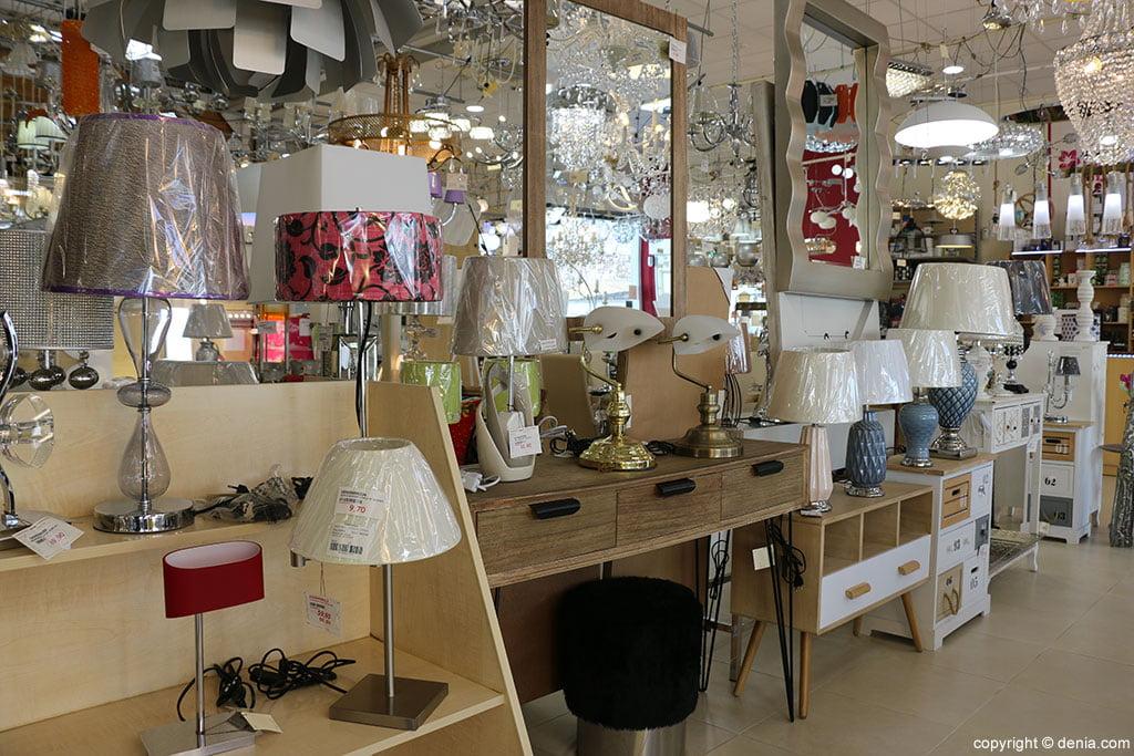 Muebles y lámparas Vimaluz
