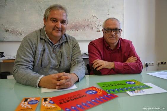 Albert Morera y Ricard Pérez