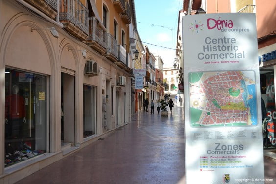 Rue Cop Dénia