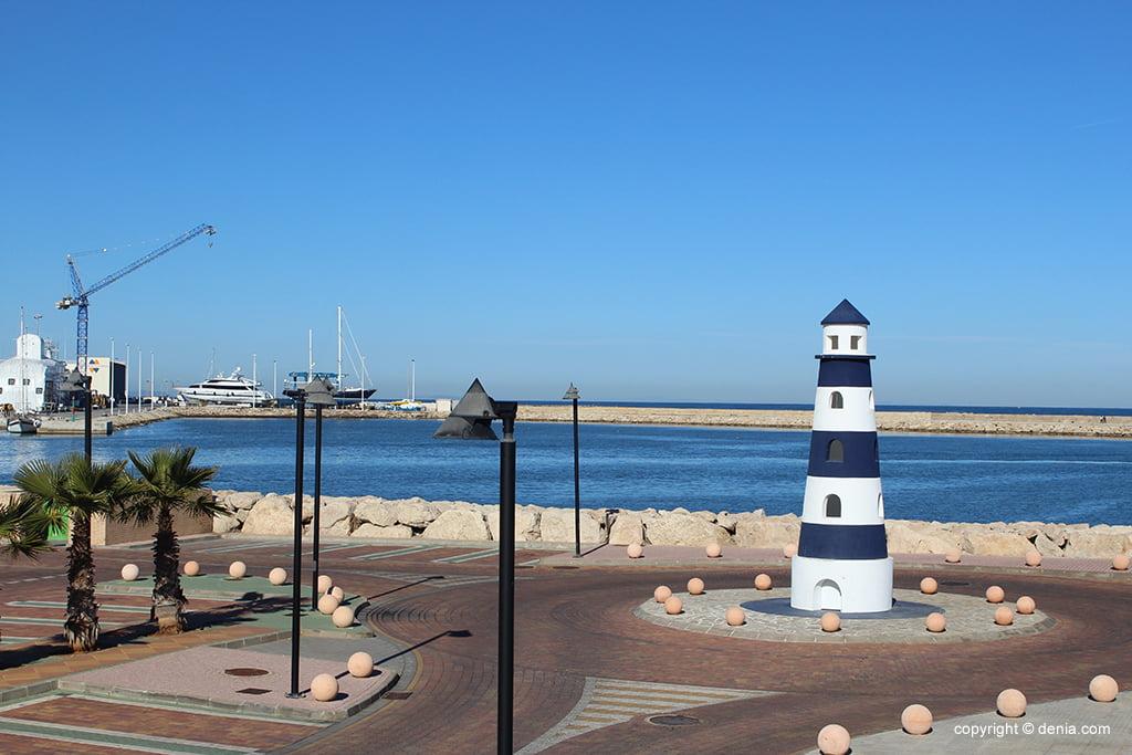 Faro Marina de Denia