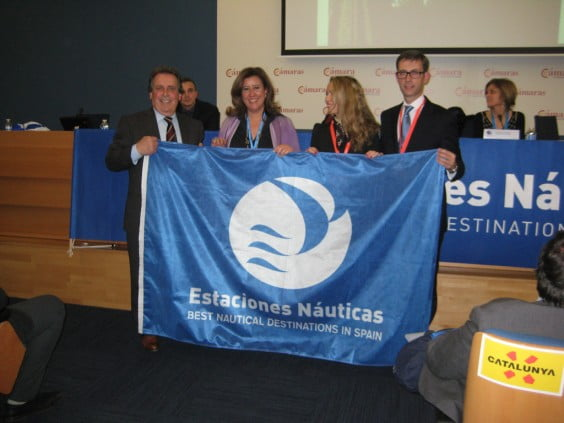 Fitur 2015 - Collection flag nautical station Dénia