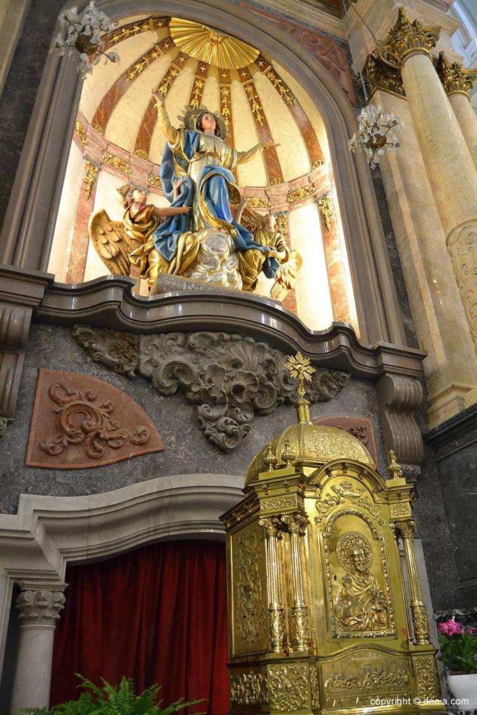 Iglesia de Nuestra Señora de la Asunción – Imagen de la Asunción