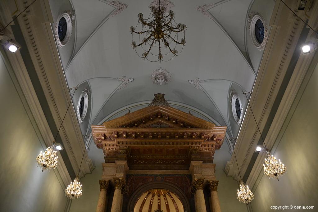 Iglesia de Nuestra Señora de la Asunción – bóveda del altar