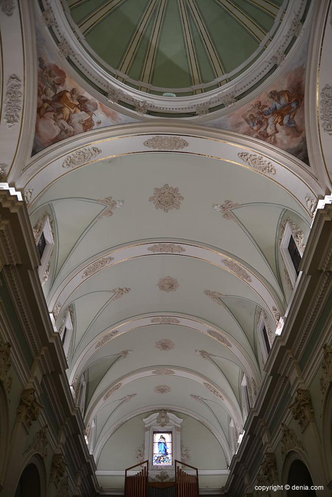 Iglesia de Nuestra Señora de la Asunción – bóveda