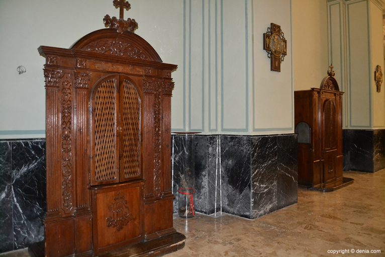 Iglesia de Nuestra Señora de la Asunción - confesionarios