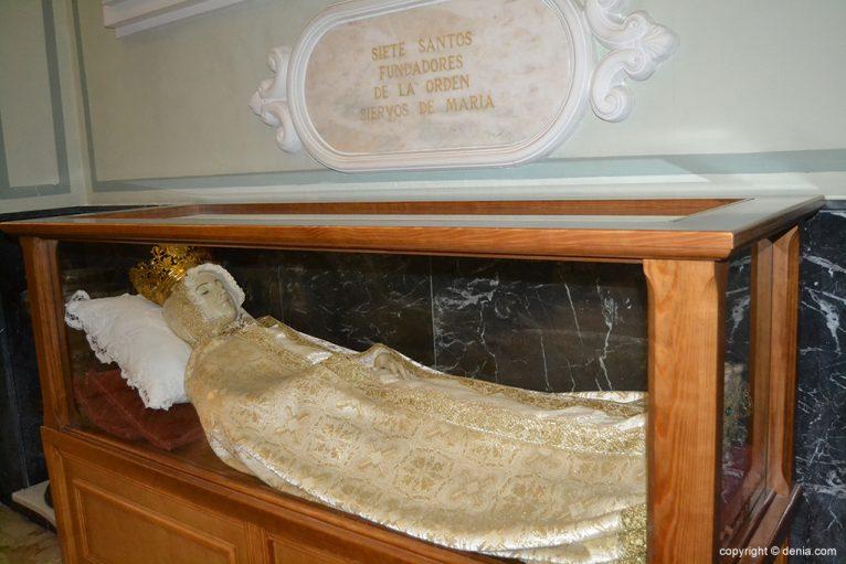 Iglesia de Nuestra Señora de la Asunción - virgen yacente