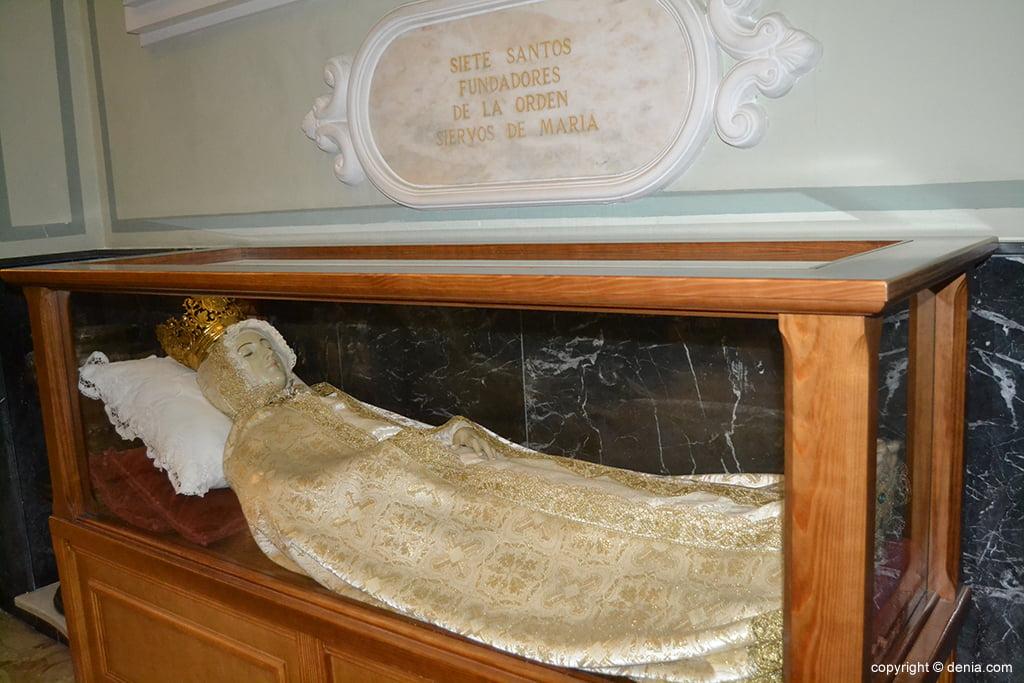 Iglesia de Nuestra Señora de la Asunción – virgen yacente