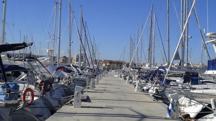 Pantalán Marina de Denia