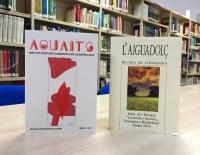 Presentación de las revistas Aguaits i l'Aiguadolç