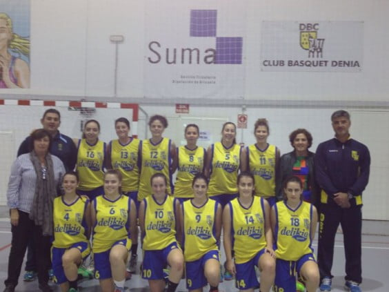 female senior team Dénia Basketball