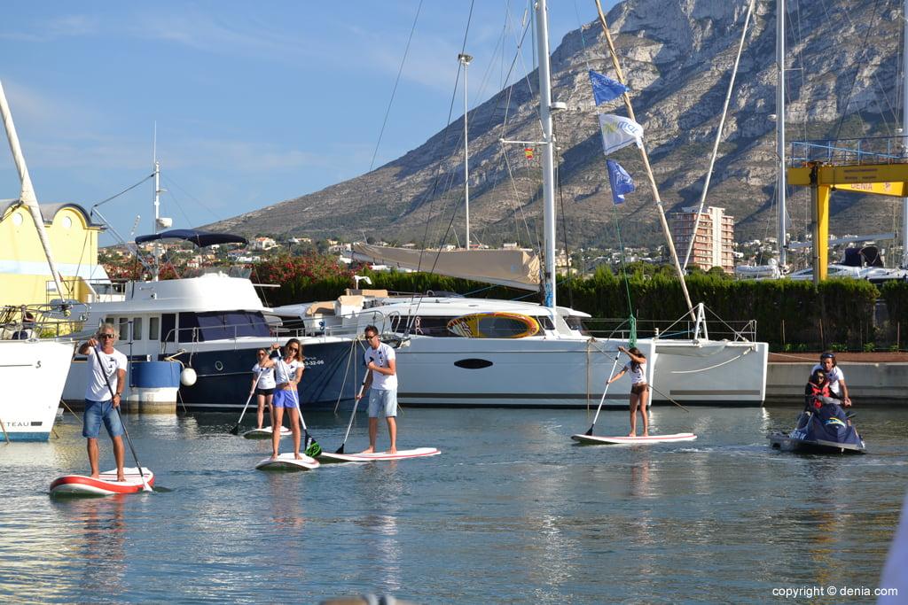 Stand Up Paddle a Marina de Denia
