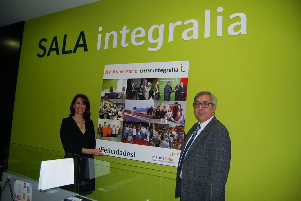 Ángel Giménez agradece la labor de Integralia