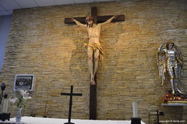 Altar de San Miguel en Dénia