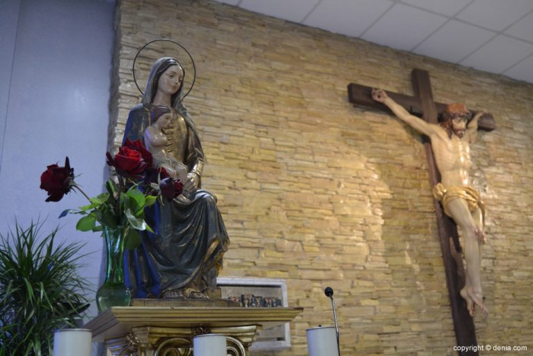 Altar de la Iglesia San Miguel de Dénia