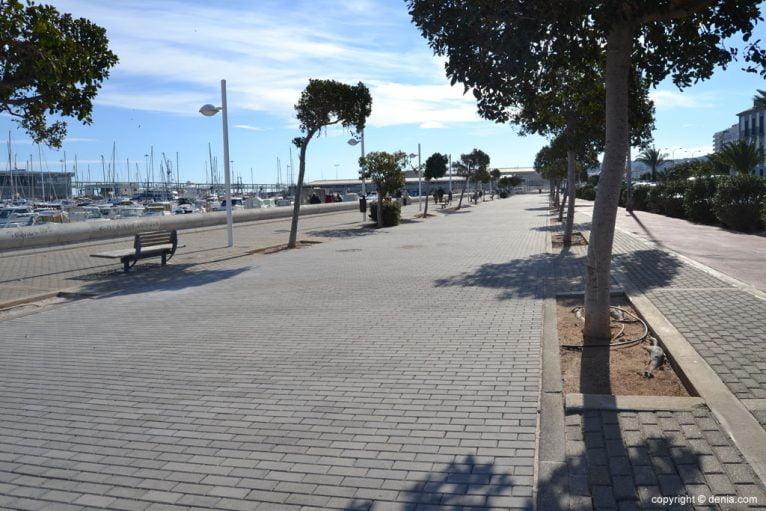 Ampliación del paseo marítimo de Dénia