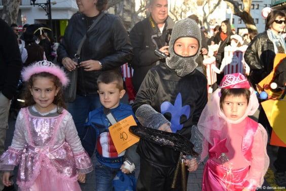 Carnaval infantil en Dénia