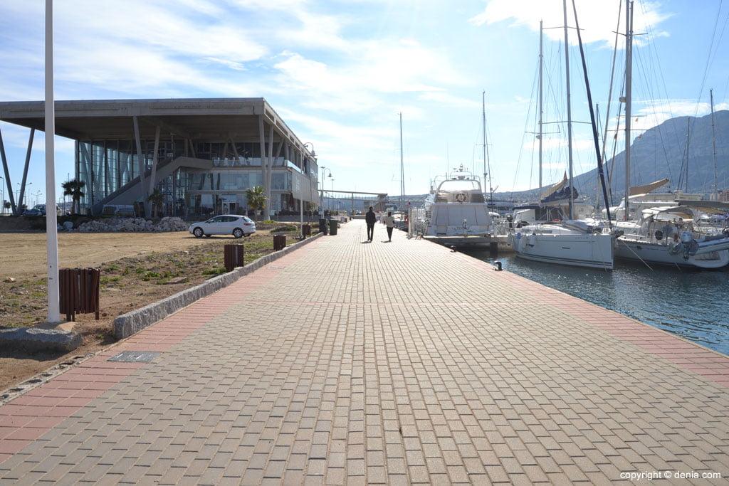 Dénia y su paseo marítimo