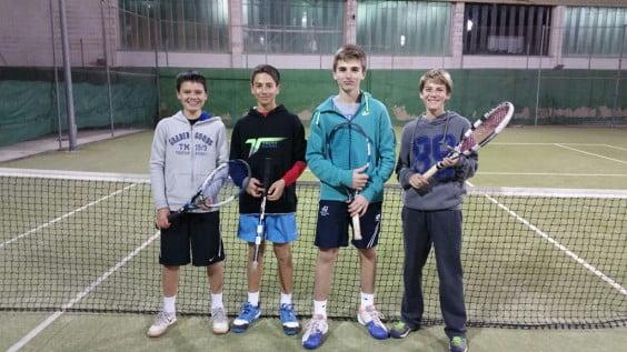 Club enfants Tennis Dénia équipe