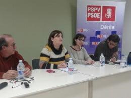 Jornada sobre territorio y medio ambiente del PSOE Dénia
