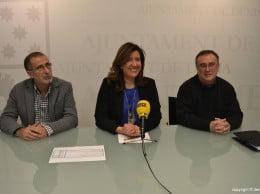 La alcaldesa de Dénia y representantes de la Asociación de Constructores y Empresas Afines