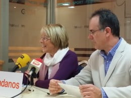Mari Martínez y Sergio Benito