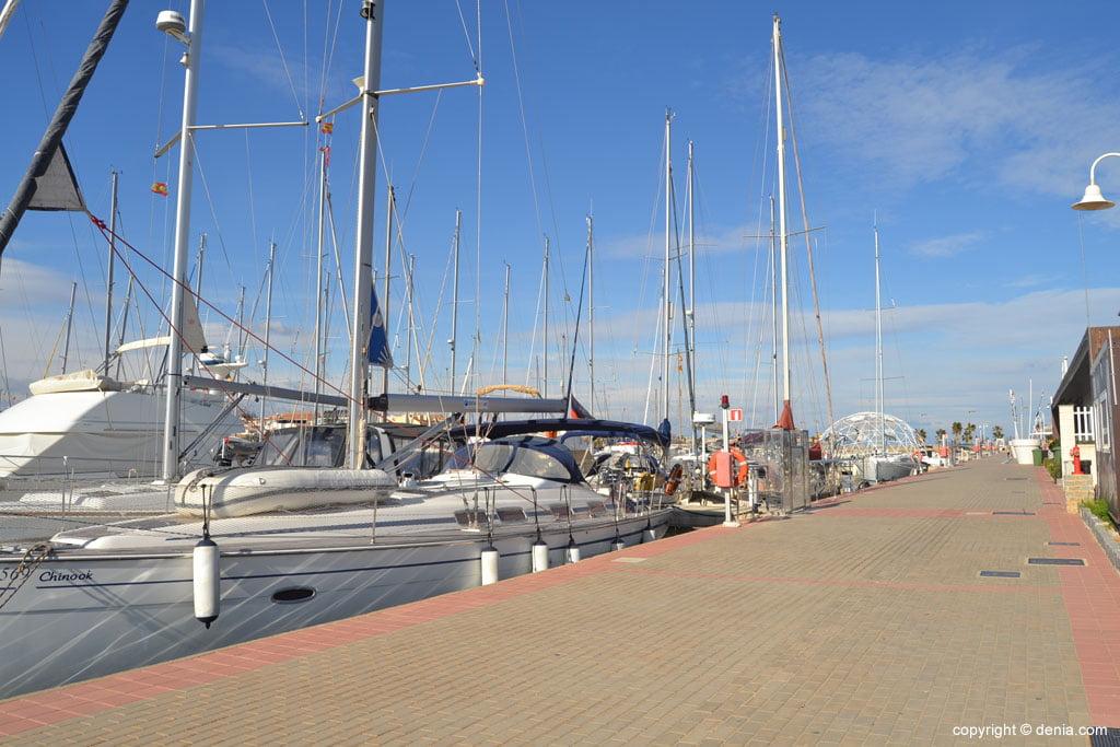 Paseo marítimo en Dénia