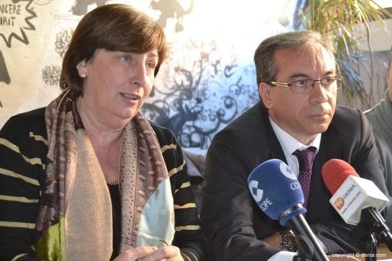 Pepa Font y Miguel Llobell