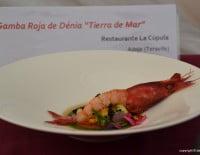 Plato del Restaurante La Cùpula Ganador del concurso