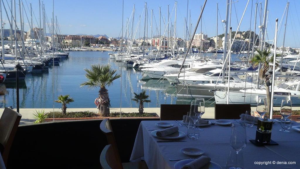 Restaurante en Marina de Dénia